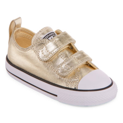 Converse Chuck Taylor All Star Metallic 2v - Ox Girls Sneakers - Toddler