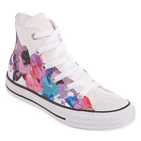 a00c0e5453881e Converse Chuck Taylor All Star Hi Girls Sneakers Little Kids Big Kids  JCPenney