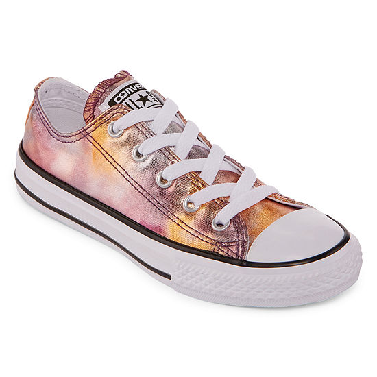 58f3c76ee1ddb6 Converse Chuck Taylor All Star Metallic Girls Sneakers - Little Kids -  JCPenney