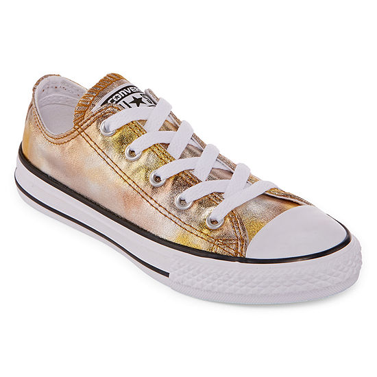 Converse Chuck Taylor All Star Metallic Girls Sneakers - Little Kids