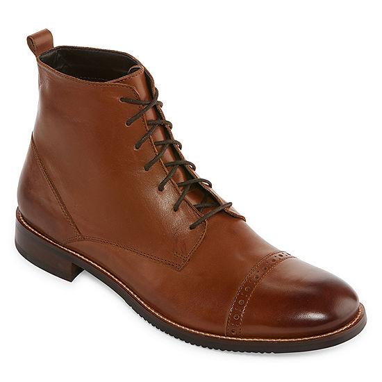 b72313a72b8d Stafford Mens Hardy Dress Boots - JCPenney