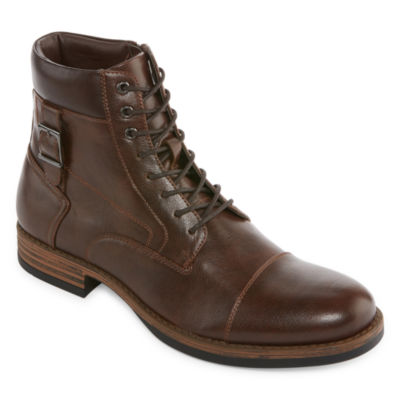 Collection by Michael Strahan  Mens Lace Up Boots
