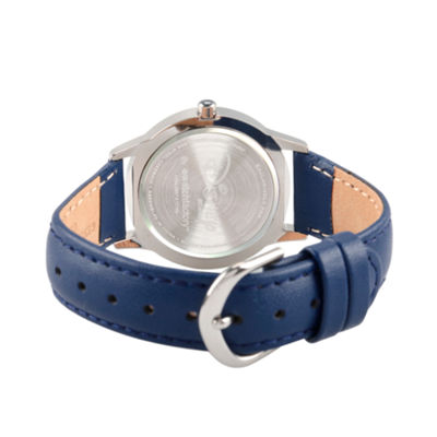 Disney Princess Olaf Frozen Boys Blue Strap Watch-Wds000194