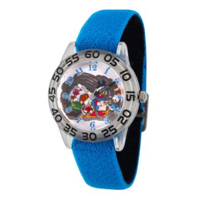 Disney Mickey Mouse Boys Blue Strap Watch-Wds000272