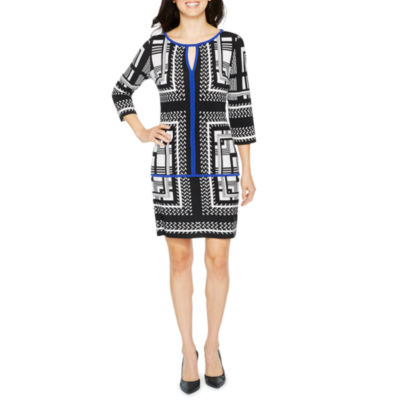 Melrose 3/4 Sleeve Shift Dress