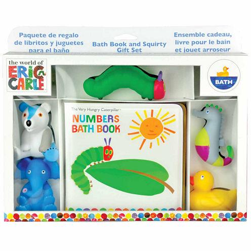 Kids Preferred Eric Carle Bath Gift Set Interactive Toy - Unisex