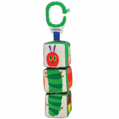 "Kids Preferred Eric Carle ""Tiwst & Click"" Character Blocks Interactive Toy - Unisex"