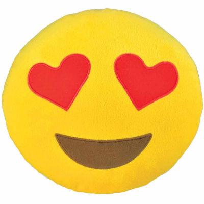 Kids Preferred Emoji Heart Eyes Large Pillow Plush Doll