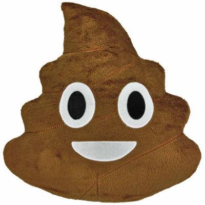 Kids Preferred Emoji Poop Large Pillow Plush Doll