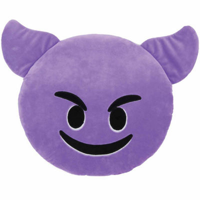 Kids Preferred Emoji Horns Large Pillow Plush Doll