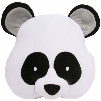 Kids Preferred Emoji Panda Large Pillow Plush Doll