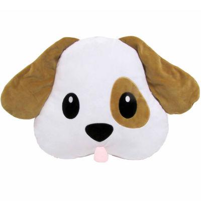 Kids Preferred Emoji Puppy Large Pillow Plush Doll