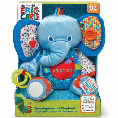 Kids Preferred Elephant Large Activity Plush Doll