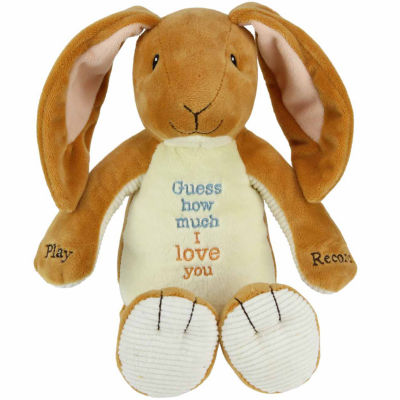 Kids Preferred Guess How Much I Love You Recordable Plush Doll