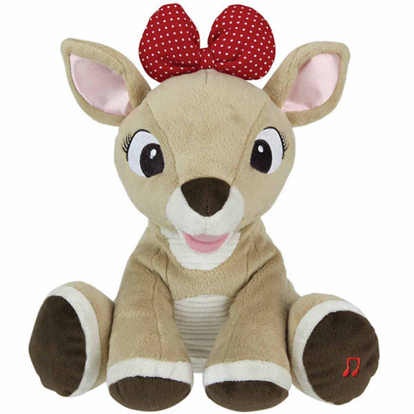 Kids Preferred Rudolph Light-Up Musical Clarice Plush Doll