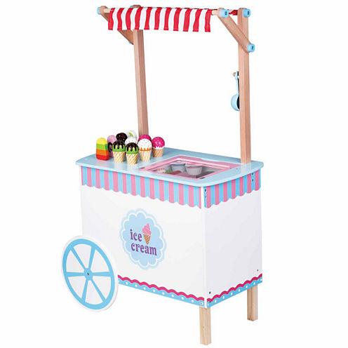 Kids Preferred Windsor Ice Cream Cart Play Food