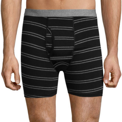 Stafford Blended Cotton Stripe Boxer Brief