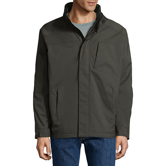 IZOD Ripstop Wind Resistant Water Resistant Midweight Puffer Jacket