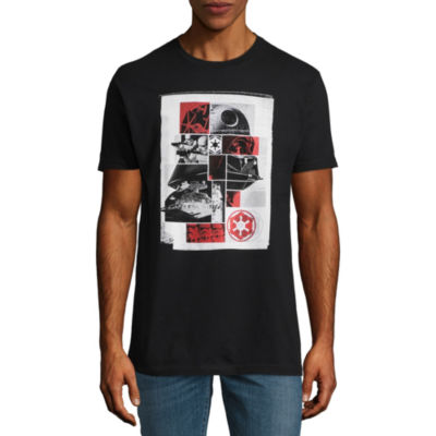 Short Sleeve Star Wars Tv + Movies Vader Grid Collage  Graphic T-Shirt