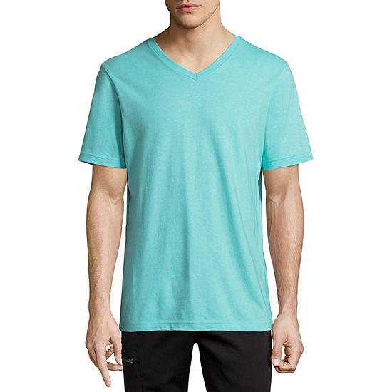 Xersion Xtreme Vneck Mens V Neck Short Sleeve T-Shirt