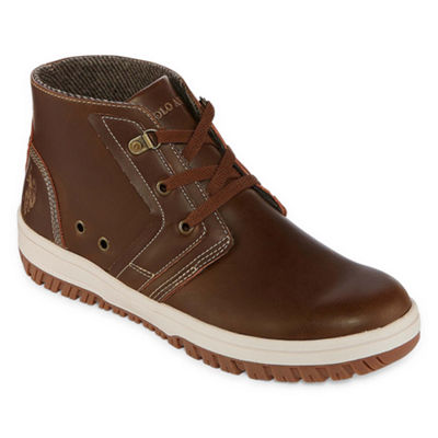 Us Polo Assn. Mens Bruno Lace Up Boots