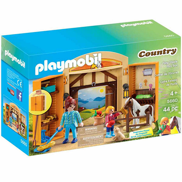 Playmobil Pony Stable Play Box