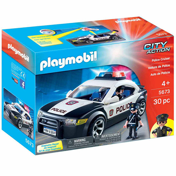 playmobil police car - Playmobile Police