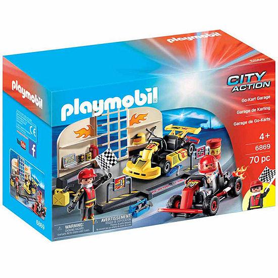Playmobil Go-Kart Garage