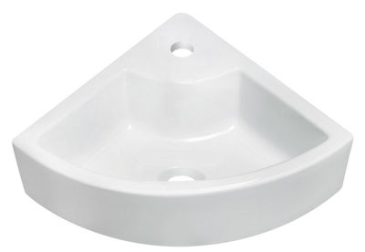 American Imaginations Above Counter Ceramic Irregular Vessel Sink