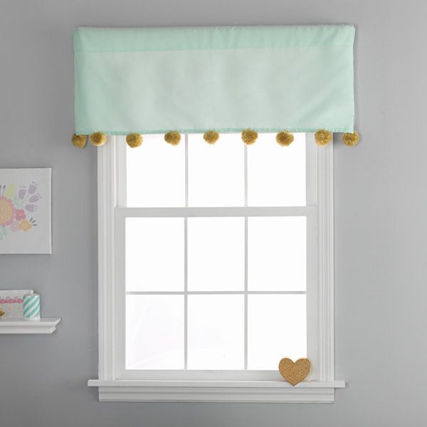 Frank And Lulu Gold Dusk Rod-Pocket Tailored Valance
