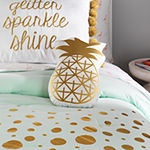 Frank And Lulu Pineapple Cylinder Throw Pillow
