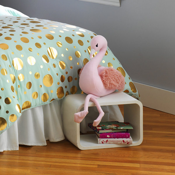 Frank And Lulu Flamingo Throw Pillow