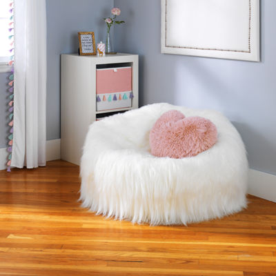 Frank and Lulu Fun Faux Fur Soft Seating