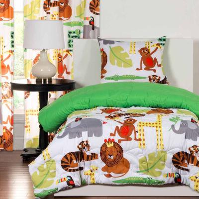 Crayola Jungle Love Comforter Set