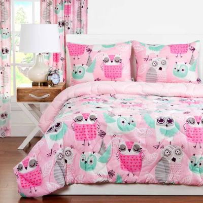 Crayola Night Owl Comforter Set