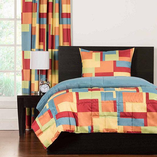 Crayola Paint Box Comforter Set