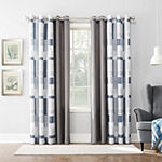 No 918 Valerie Blockade Light-Filtering Grommet-Top Single Curtain Panel