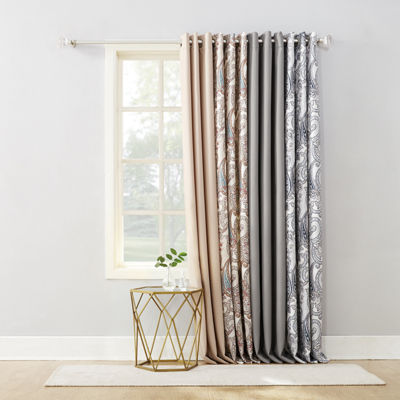 Valerie Wallace Grommet-Top Curtain Panel