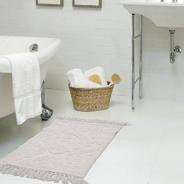 Jeanne Pierre Ricardo Fringe 2-Pc Bath Rug Set