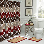 Clarisse 15-pc. Shower Curtain Set