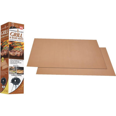 As Seen on TV Copper Chef Grill and Bake Mats