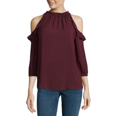 a.n.a Cold Shoulder Blouse