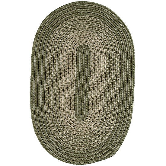 Jcpenney Home Expressions Reversible Braided Oval Rug
