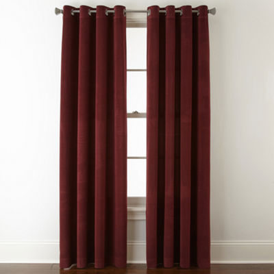 Studio™ Athens Velvet Grommet-Top Curtain Panel