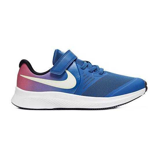 Nike Star Runner 2 D2n Little Kids Girls Running Shoes