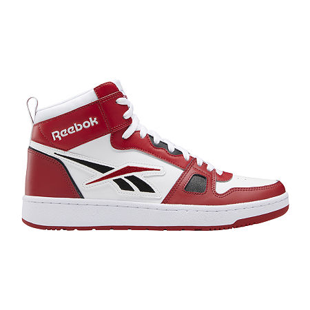 Mens Vintage Shoes, Boots | Retro Shoes & Boots Reebok Resonator Mid Mens Basketball Shoes 11 Medium Red $64.99 AT vintagedancer.com
