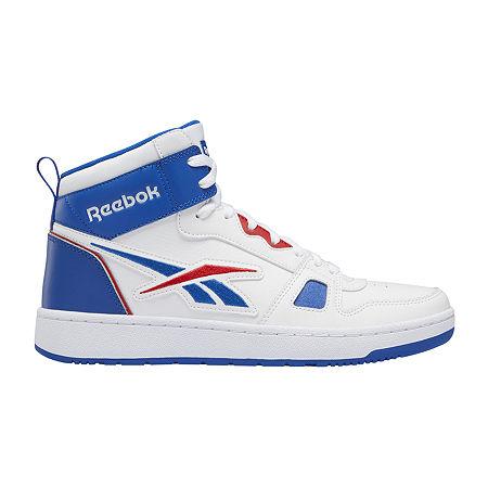 Mens Vintage Shoes, Boots | Retro Shoes & Boots Reebok Resonator Mid Mens Basketball Shoes 8 Medium White $64.99 AT vintagedancer.com