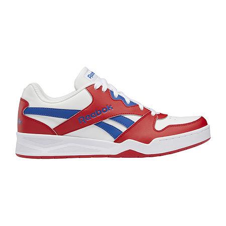 Mens Vintage Shoes, Boots | Retro Shoes & Boots Reebok Royal Bb4500 Low2 Mens Basketball Shoes 11 12 Medium Red $54.99 AT vintagedancer.com