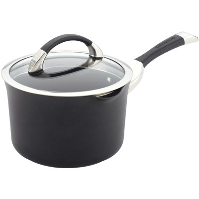 Circulon® Symmetry 3½-qt. Covered Straining Saucepan