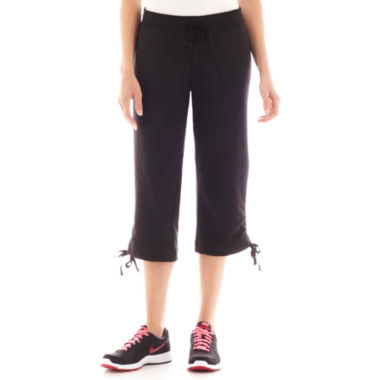 Silverwear® French Terry Knit Capris - Tall